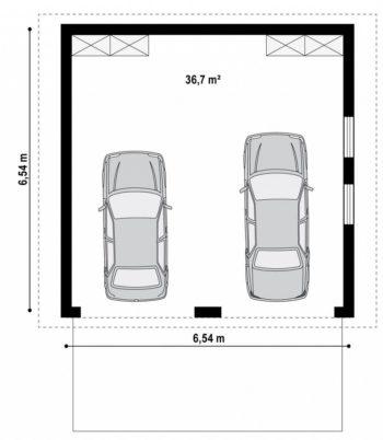 гараж на 2 авто
