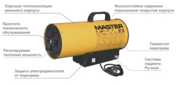 схема газовой пушки