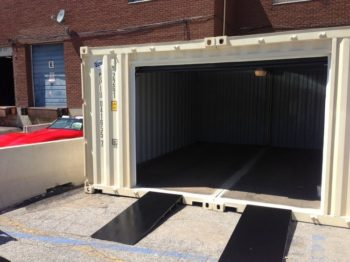 морской контейнер для гаража