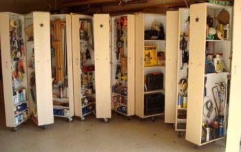полки для обустройства гаража