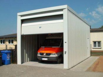 высокий гараж