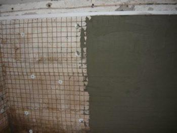 штукатурка на стенах