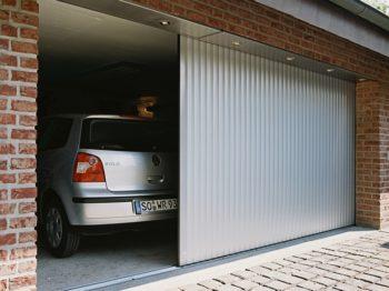 откатные ворота в гараж