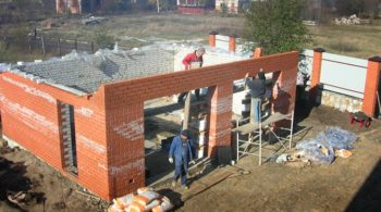подготовка стен гаража