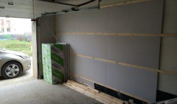 выполнение ремонта в гараже