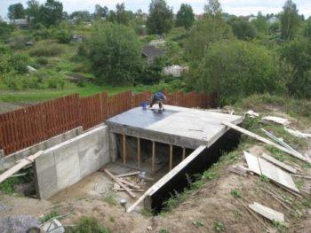 строительство подземного гаража
