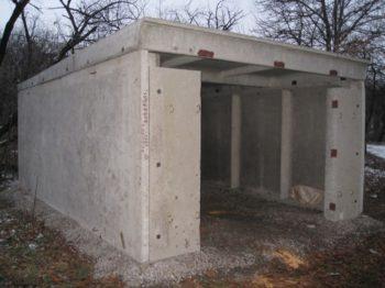конструкция гаража