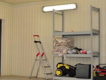 склад в гараже