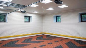 выбор покрытия пола для гаража